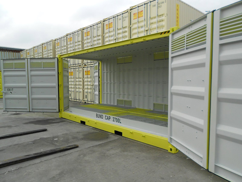 20' Open Side Dangerous Goods Sea Container