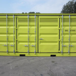 20ft Open Side Dangerous Goods Sea Container for Sale