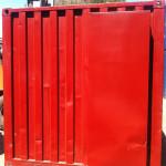 Refurbished Plumbers Sea Container