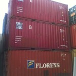 Some of our used sea containers